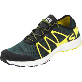 Salomon Crossamphibian Swift Shoes Herre darkest spruce/black/sulphur spring